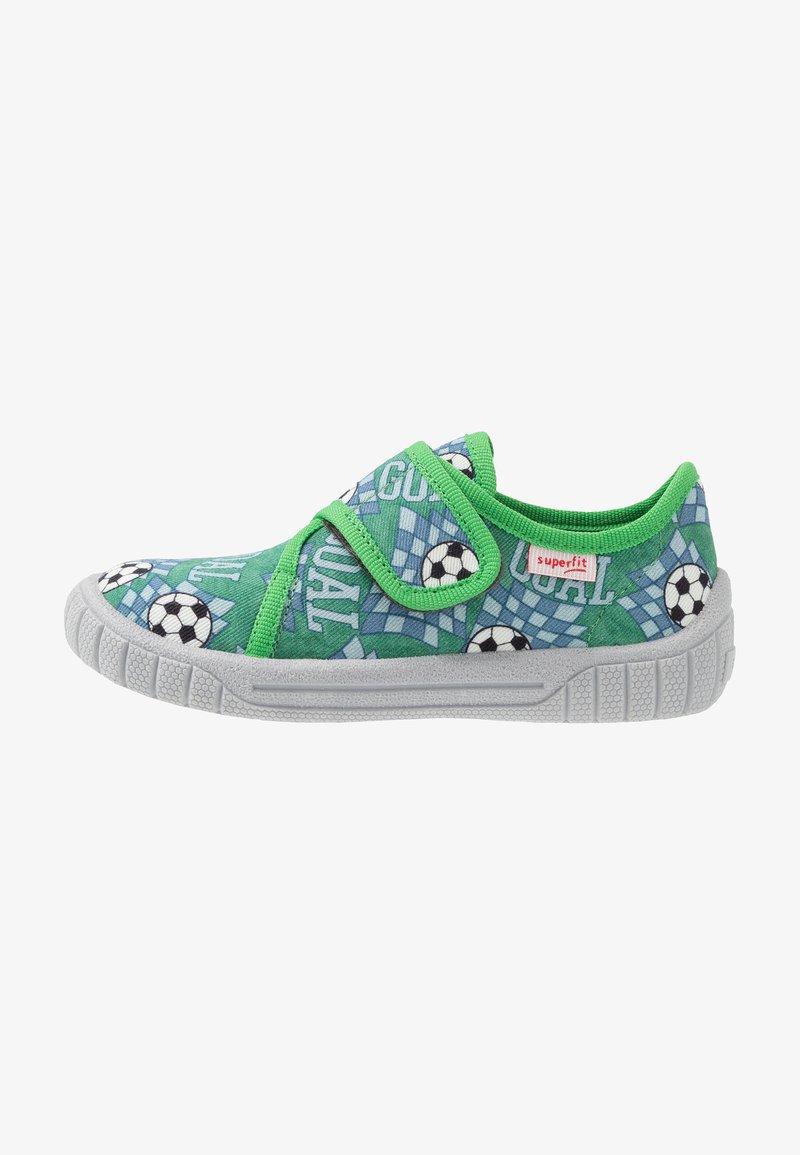 Superfit - BILL - Domácí obuv - grün