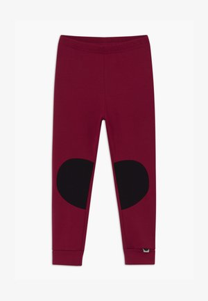 PATCH UNISEX - Leggings - Trousers - deep red