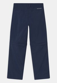 Columbia - SILVER RIDGE CONVERTIBLE 2-IN-1 UNISEX - Outdoor trousers - collegiate navy - 1