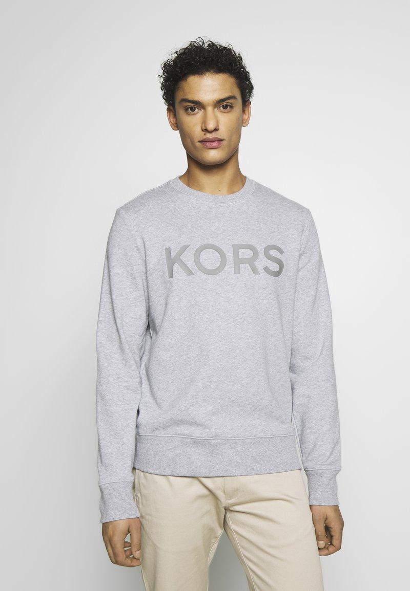Michael Kors - GARMENT DYE LOGO - Sweatshirt - heather grey