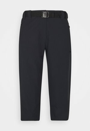 WOMAN CAPRI - 3/4 sports trousers - antracite