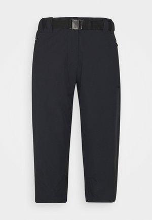 WOMAN CAPRI - Pantaloncini 3/4 - antracite