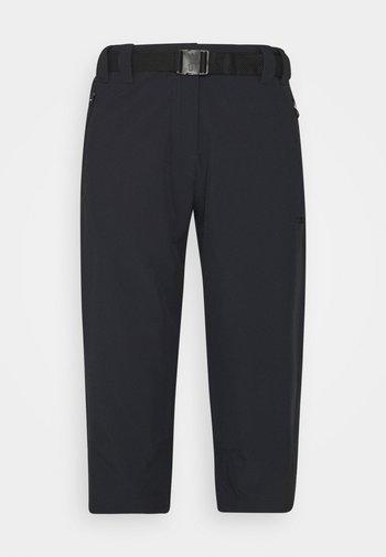 WOMAN CAPRI - 3/4 sports trousers - antracite