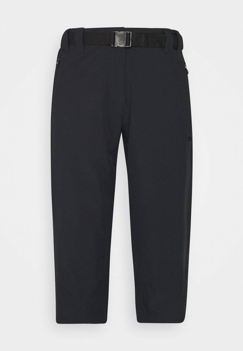 CMP - WOMAN CAPRI - Pantalón 3/4 de deporte - antracite