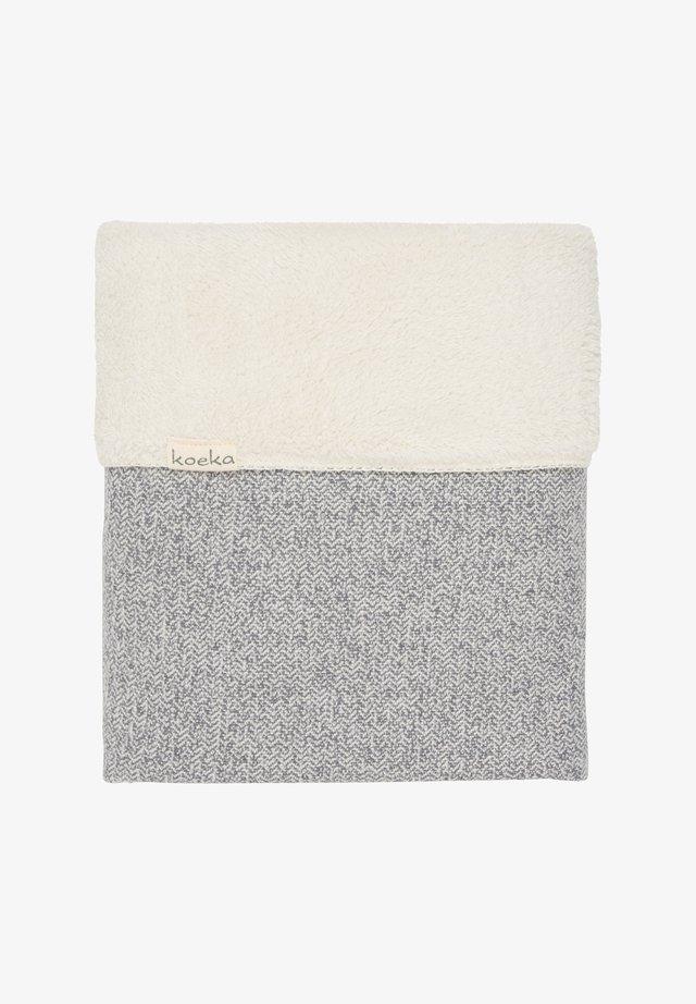 KINDERBETTDECKE VIGO - Baby blanket - grey