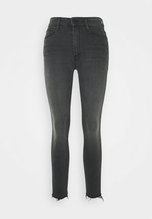 HIGH WAISTED LOOKER ANKLE FRAY - Jeansy Skinny Fit - lighting up lanterns