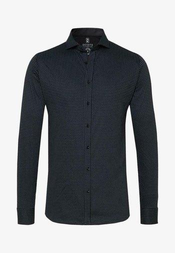 Shirt - black - dots