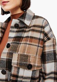 s.Oliver - Light jacket - brown check - 5