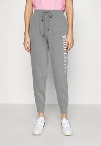 Hollister Co. - TIMELESS LOGO JOGGER - Joggebukse - grey - 0