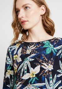 comma casual identity - 3/4 ARM - Blouse - blue - 3