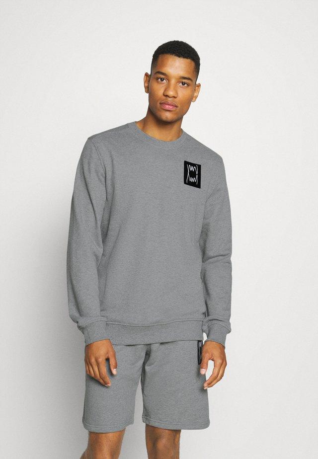 PIVOT CREW - Sweatshirt - medium gray heather