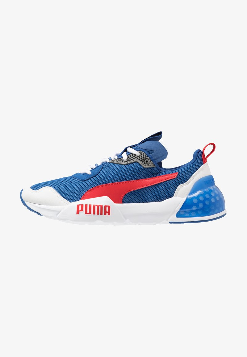 Puma - CELL PHANTOM - Zapatillas de running neutras - galaxy blue/white/high risk red