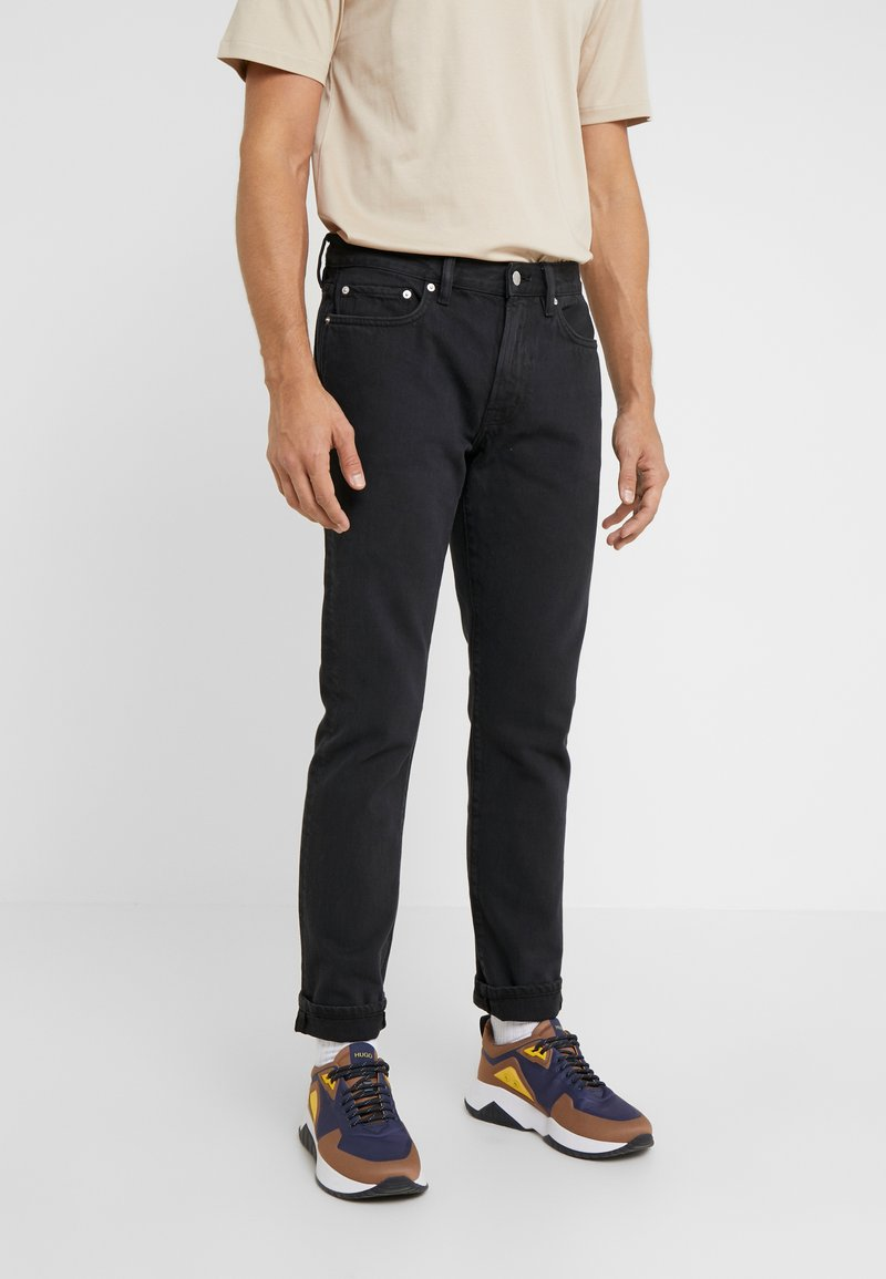Outerknown - DRIFTER - Slim fit jeans - pitch black