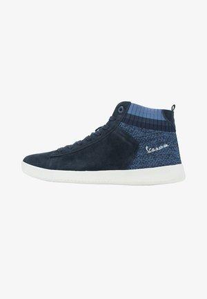 High-top trainers - blu scuro