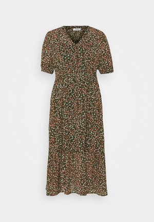 EDA RIKKELIE DRESS - Kjole - brown / multicolor