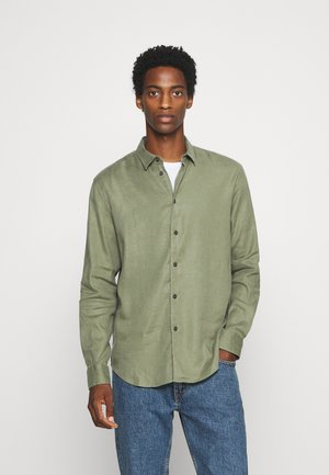 LIAM  - Shirt - deep lichen green