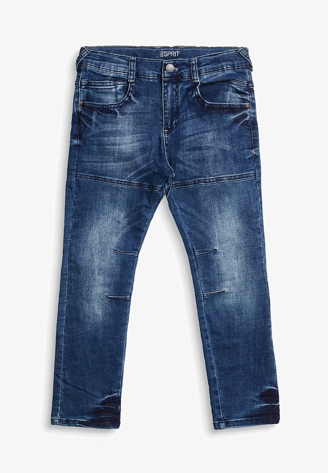 Straight leg jeans - blue medium washed