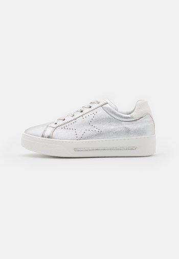 STAR - Sneakers basse - plata