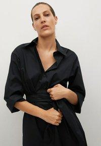 Mango - Vestido camisero - noir - 2