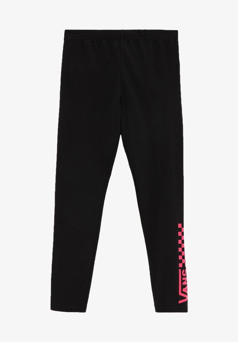 Vans - GR CHALKBOARD - Leggings - Trousers - black