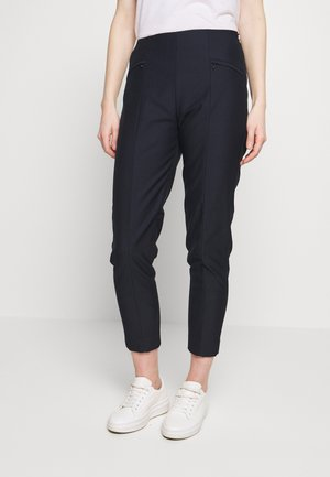 SLIM FIT - Trousers - navy