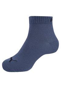 Puma - QUARTER 6 PACK - Sports socks - navy/grey/nightshadow blue - 1