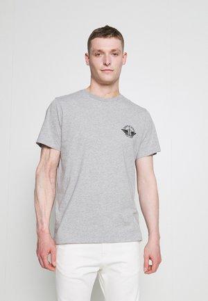 LOGO TEE - T-shirt med print - gray heather