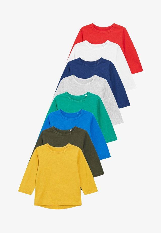 8 PACK  - T-shirt à manches longues - blue