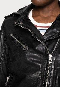 Gipsy - FAMOS - Leather jacket - black - 4