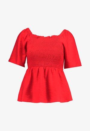 YASMINA - Blusa - fiery red