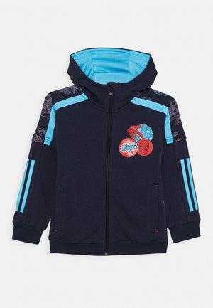 Mikina na zip - dark blue