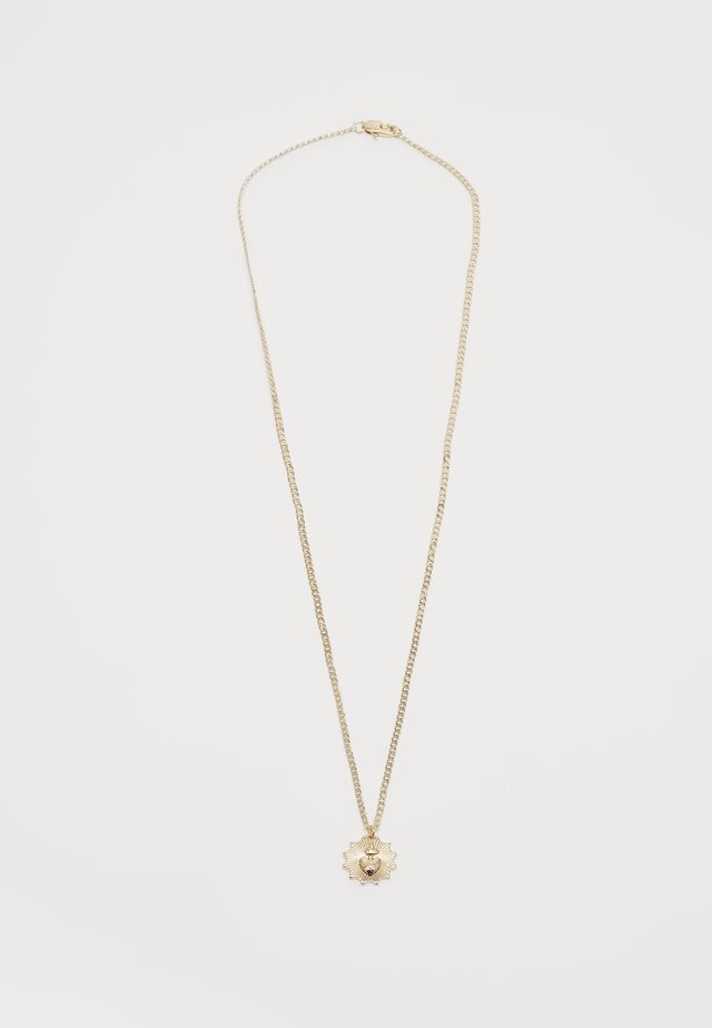 HEART PENDANT - Necklace - gold-coloured