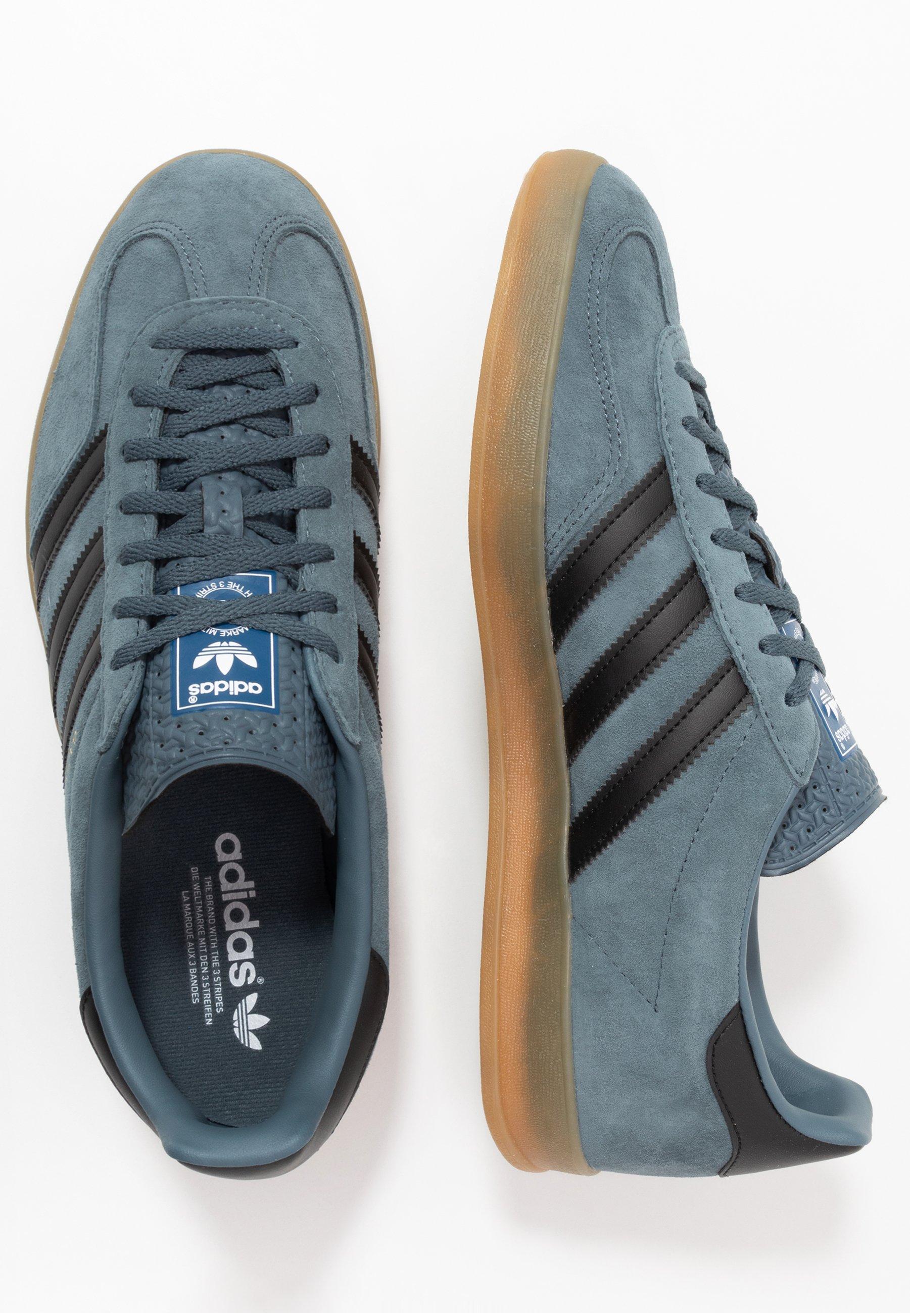 adidas Originals GAZELLE INDOOR - Baskets basses - legend blue ...