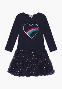happy girls - Žerzejové šaty - navy - 0