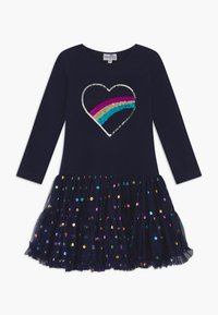 happy girls - Jersey dress - navy - 0