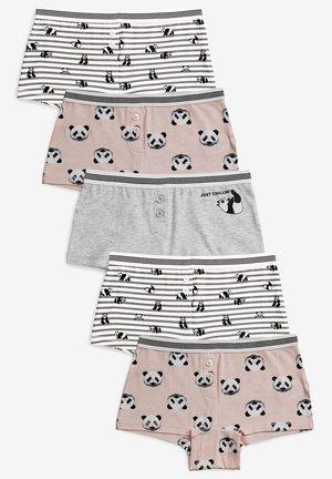 5 PACK PANDA BOXERS (2-16YRS) - Pants - pink