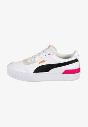 CARINA LIFT  - Trainers - black /white / glowing pink