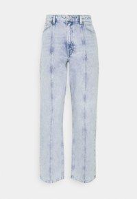 Monki - Jeans a sigaretta - light blue - 4