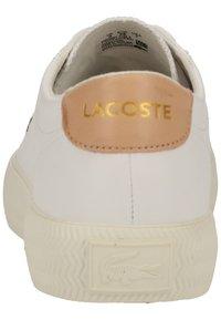 Lacoste - Baskets basses - wht/nat 83j - 5