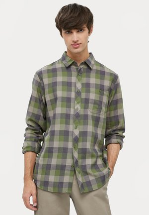 LONG SLEEVED - Shirt - khaki