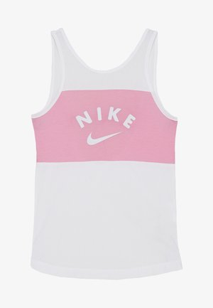 TANK - Linne - white/magic flamingo/football grey