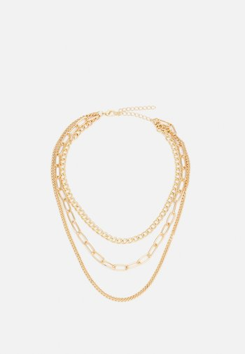 LAYERING CHAIN NECKLACE UNISEX