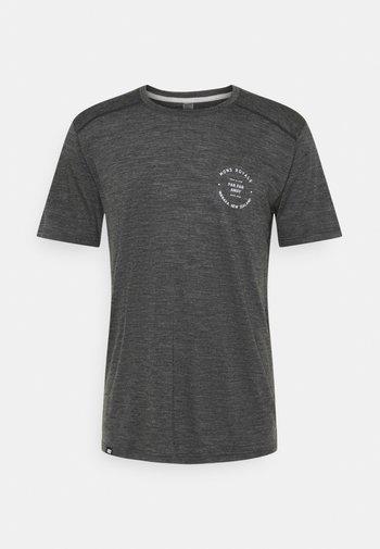 VAPOUR - Print T-shirt - smoke