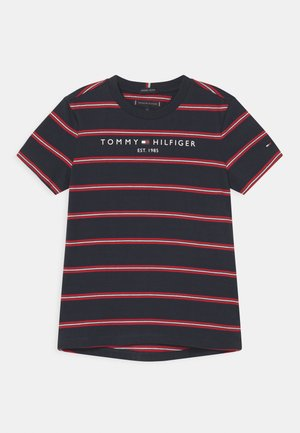 ESSENTIAL STRIPE - Camiseta estampada - dark blue