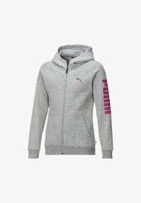 light gray heather-pink