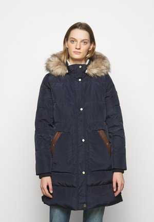 COAT HOOD - Down coat - dark navy