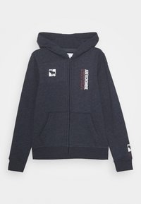 Abercrombie & Fitch - LOGO - Zip-up hoodie - navy - 0