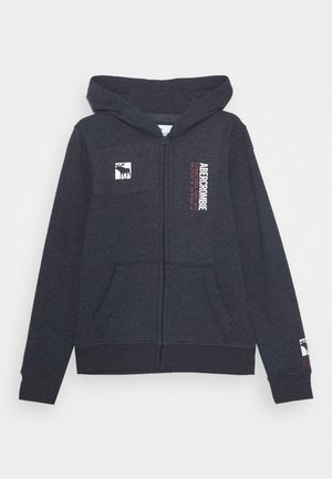 LOGO - veste en sweat zippée - navy