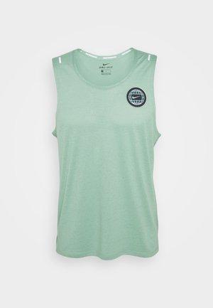 MILER TANK - Camiseta de deporte - healing jade /geode teal/reflective silv
