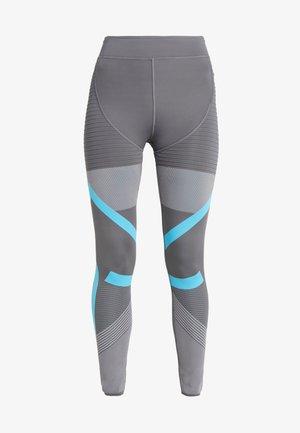 PARLEY PRIMEKNIT RUNNING HIGH WAIST LEGGINGS - Leggings - grey five/grey/blue